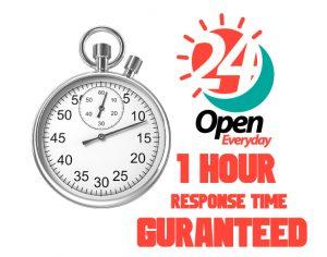 1 Hour Response
